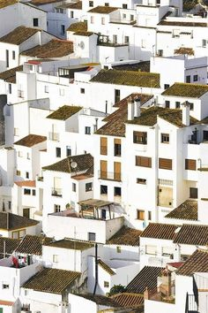 The White Town of Casares, Málaga | Spain (by Ken Welsh)