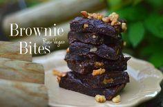 Gooey Raw Vegan Brownies!  - Powered by @ultimaterecipe