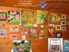 """Blog déco décoratrice décorateur architecture intérieure interior design (annuaire-deco.blogspot.fr): """"Les Fleurs de la Pépinière"""" Mon exposition PHOTOS-TABLEAUX Pépinière des Sources - 56 Saint Avé (naviginternet@orange.fr)  http://annuaire-deco.blogspot.fr  EXPOSITION : VAL : """"Les Fleurs de la Pépinière"""" """"PHOTOS-TABLEAUX"""" JUILLET-AOUT-SEPT-OCTOBRE 2016 Vannes Nord - Meucon - Berval - St Avé 56 """"Pépinière des Sources""""  http://www.pepinieredessources.fr"""