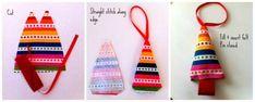 Christmas Ornaments Mini Trees - The Sewing Loft