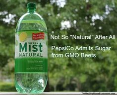 now there you go, get some GMO in your soda!  Am I getting through to you yet?