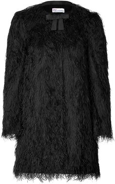 This should remind you something!  RED Valentino Faux Fur Coat