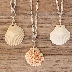 Hawaiian Sunrise Sea Shell Necklace | Bohemian Gypsy Jewelry | Boho Festival Jewellery | Hippie Fashion Style | Indie and Harper #hippiejewelry