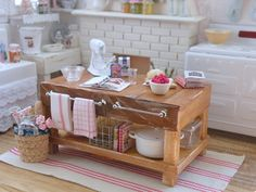 Welcome to my miniature gourmet cottage kitchen... Since part 1 of this kitchen { The post before this } there's been some fun updates and ...