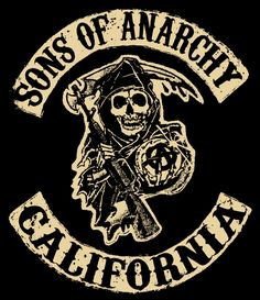 SONS OF ANARCHY : It's the story of the Teller-Morrow family of Charming, California, as well as the other members of Sons of Anarchy Motorcycle Club, Redwood Original (SAMCRO), their families, various Charming townspeople, allied and rival gangs, associates, and law agencies that undermine or support SAMCRO's legal and illegal enterprises. Love it!