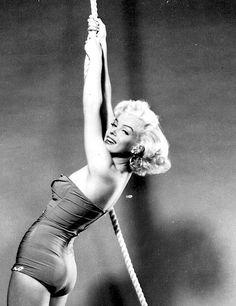 Marilyn Monroe photographed by Bert Reisfield, 1953.
