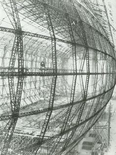 Airship, HIndenburg, Construction