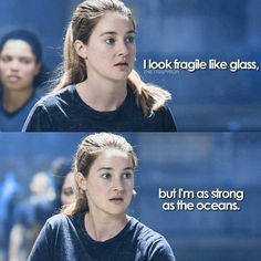 I love this edit, but Tris is ❤