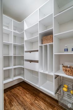 Stunning Modern Farmhouse In The Heart Of Roswell in Roswell, GA, United States . Stunning Modern Farmhouse In The Heart Of Roswell in Roswell, GA, United States for sale on JamesEd Pantry Laundry Room, Pantry Closet, Ikea Pantry, Pantry Shelving, Pantry Storage, Shelving Ideas, Built In Pantry, Walk In Pantry, Pantry With Drawers