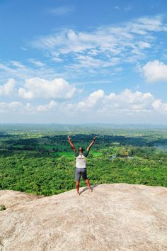 This Is One Of The Best Views In Sri Lanka - Pidurangala Rock - Hand Luggage Only - Travel, Food & Photography Blog