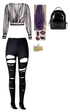 """""""Untitled #187"""" by gwboobear on Polyvore featuring WithChic, Gianvito Rossi and Kendall + Kylie"""