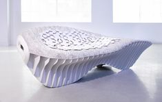 Terreform ONE's Biological Benches Question Traditional Manufacturing Methods
