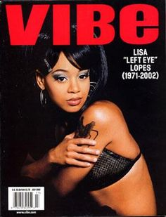 Don't go chasing waterfalls.... - Left Eye | May 27, 1971 - April 25 2002 She was such an amazing artist. The rao in Waterfalls is my favorite rap ever.