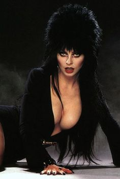We've got some uncomfortable news about your sexy Halloween costume Elvira Movies, Cassandra Peterson, Horror Icons, Goth Beauty, Sexy Halloween Costumes, Cosplay Costumes, Bd Comics, Goth Girls, Mistress