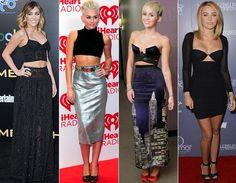 A tendência cropped já se tornou marca registrada de Miley! Ela adora exibir sua barriguinha sarada tanto em red carpets (com top e saia baphônicos) quanto no dia a dia. Sexy!   Estilo de estrela: Miley Cyrus - Moda - CAPRICHO