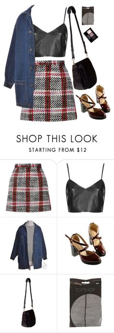 """""""I was waiting for us to move"""" by taryn-ash ❤ liked on Polyvore featuring Marni, Topshop, Nomadic and NYX"""