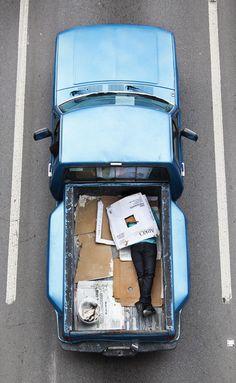 The Car Poolers by Alejandro Cartajena