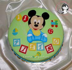 Baby Mickey Cake (Baby Disney)