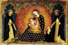 Lorenzo Veneziano, Madonna del Rosario, Chiesa di Santa Anastasia, Verona