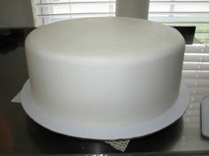 how to ice a cake smooth like fondant using buttercream