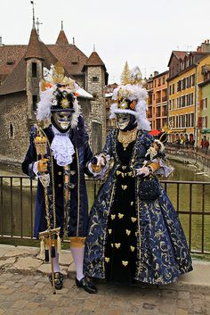 carnaval veneciano de Annecy. FR.-