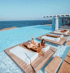Luxury living in Mykonos – Greece ? – [pin_pinter_full_name] Luxury living in Mykonos – Greece ? Luxury Living: Luxury living in Mykonos – Greece ? Vacation Places, Dream Vacations, Vacation Spots, Places To Travel, Travel Destinations, Mykonos Grecia, Cavo Tagoo Mykonos, Santorini, Myconos
