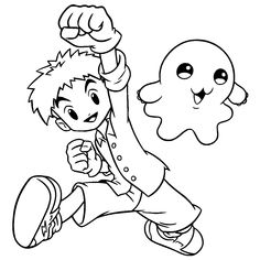 coloring page digimon coloring pages 71 - Digimon Coloring Pages