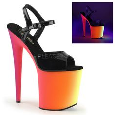 Awesome Footwear, Boots & Shoes Rainbow-809UV High Heels Shoes just added...