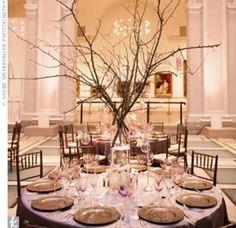 40 High Centrepiece Ideas Michelle & Thomas: Cherry Blossom - Cherry Blossom Centrepieces – The Knot
