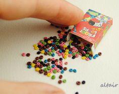6 super pretzels miniatura realista pretzel pan por toyZZ en Etsy