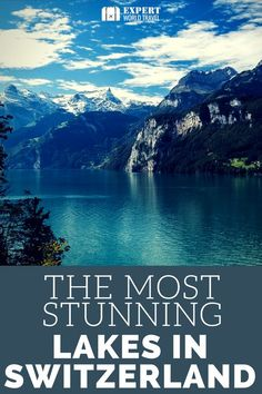 has some stunning lakes and mountains, and in this post you will discover which ones you absolutely can't miss!Switzerland has some stunning lakes and mountains, and in this post you will discover which ones you absolutely can't miss! Europe Travel Tips, New Travel, Travel Goals, Travel Expert, Travel Hair, Travel Dress, Cheap Travel, Instagram Inspiration, Travel Inspiration