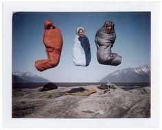 """""""I so want to team jump in a sleeping bag!"""" .....what the heck?? this is weird..."""