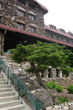 Grove Park Inn Asheville NC one hundred years old the history of the man who built this rock of ages! Blue Ridge Parkway, Blue Ridge Mountains, Great Smoky Mountains, Grove Park Inn Asheville, Asheville Nc, Visit North Carolina, North Carolina Mountains, Thomas Wolfe, Bff Girls