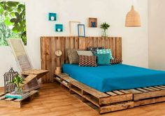 diy-cheap-recycled-pallet-bed-frame-design-ideas-pallets-project-plans