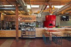 Industrial restaurant space by Barbara Bestor
