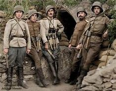 Old Picz | WWI in color. Part 1