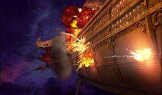 Flint´s airship.