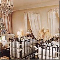 Jennifer Lopez Nursery!!! Addi's - A Division of Sew Unique carries this line of bedding AND this line of cribs too!!  So cool!! :)