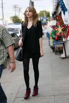 Lovely Taylor Swift Street Style : Beauty Taylor Swift Street Style