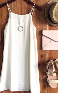 Love this slip dress!