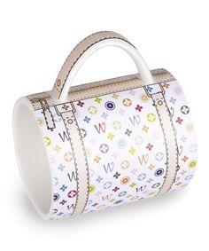 Take a look at this Monogram Handbag Mug by Wild Eye Designs on #zulily today!