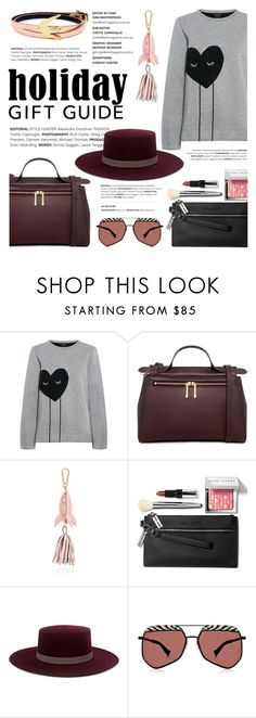 """""""Gift Guide: Besties"""" by ifchic ❤ liked on Polyvore featuring Mother of Pearl, Karen Walker, Bobbi Brown Cosmetics, Janessa Leone, McQ by Alexander McQueen, giftguide, besties, contestentry and ifchic"""