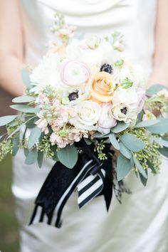 An Elegant Blush and Black Halloween Wedding Styled Shoot