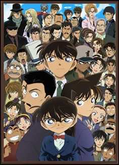 Conan/shinichi and Friends.and Kaito Kid (from DETECTIVE CONAN) Must watch because every Case is only one Episode and is Full of Fantasy Conan Movie, Detektif Conan, Magic Kaito, Tv Anime, Manga Anime, Anime Watch, Detective Conan Episode 1, Manga Detective Conan, Manga Comics