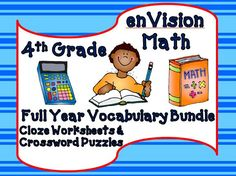 math worksheet : 1000 images about envision math on pinterest  envision math  : Envision Math 5th Grade Worksheets