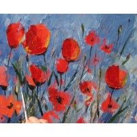 How To Paint Flowers In Acrylics Tim Fisher