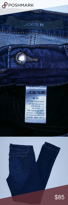 Joe's Jeans - 29 Joe's Jeans  FIT: petite skinny W 29  These were my daughter's jeans EUC - practically new; worn only once!  Size W 29  PERFECT CONDITION Joe's Jeans Jeans Skinny