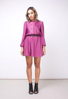 Baby pink dress asos marketplace