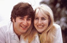 ♡♥John with wife Cynthia♥♡