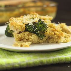 How to make Broccoli, Chicken and Quinoa Bake.
